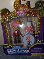 Shopkins Happy Places ROYAL TRENDS Prince Rowen Ruby Figure NEW