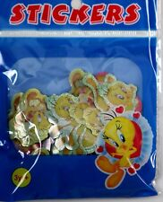 Brand New 100 mini adesivi TWEETY BIRD UK A1