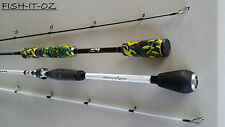 ABU GARCIA AND BASS LOOMIS FISHING ROD SPINNING ROD BASS JIGGING TWIN ROD PACK