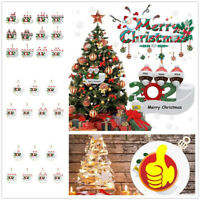 2020 Family Personalized Tree Christmas Hanging Ornament Pendant Xmas Decor