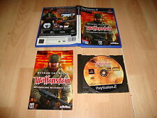 RETURN TO CASTLE WOLFENSTEIN OPERATION RESURRECTION PARA SONY PS2 USADO COMPLETO