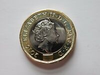 2016 £1 Coin UNCIRCULATED 12-Sided New Styled One Pound Coin British Royal Mint