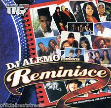 DJ Alemo Reminisce Classic Old School Blends (Mix CD) Rap R&B Hip Hop Mixtape
