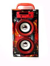 Altavoces portatil Bluetooth Mini Speaker FM USB SD MP3 MP4 Torre Pantalla Led