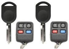 2X 4B Remote + Ford H92 / H84 PT SA Transponder Key Chip 4D63  USA Seller A+++