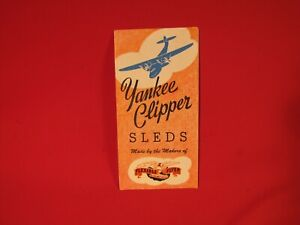 FLEXIBLE FLYER YANKEE CLIPPER SLED Brochure 1950's