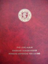 1968 FAO World Coin Complete 52 coins Set Collection RARE