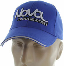 Chevy Nova 3D Blue Baseball Cap Trucker Hat Snapback Chevrolet