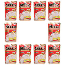 X10 Nekko Cat Wet Food Lot From Real Fish -Tuna Topping Sea Bream in Gravy 70g
