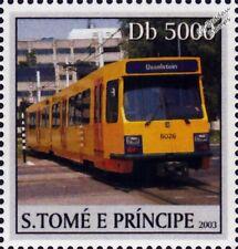 UTRECHT Sneltram (IJsselstein Fast Tram) Light Rail Train Tramway Stamp (2003)