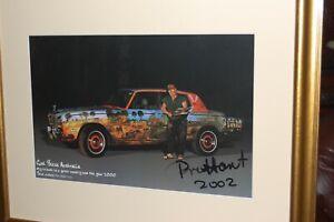 "Original signed limited edition photograph of Pro Hart - ""God Bless Australia""."
