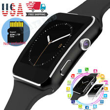 NEW Bluetooth Smart Watch phone with Camera For iPhone Samsung LG Huawei android