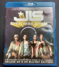 JLS - Eyes Wide Open DELUXE 3D + 2D Blu-ray edition (2-Disc Set) 148 mins