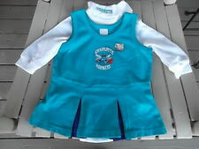 Charlotte Hornets NBA Infant Girl 2-Piece Cheerleader Dress Outfit 12 M