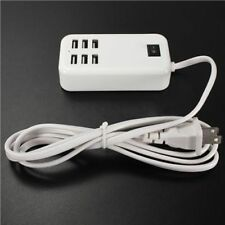 Multiple Wall USB Charger Smart Adapter Mobile Phone Tablet Charging 6 Ports