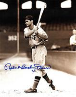 Robert Pershing Doerr (Bobby) signed  Boston Red Sox Sepia 8x10 Photo JSA
