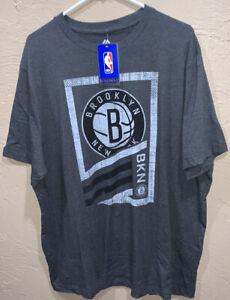 Fanatics Brooklyn Nets Mens Shirt Size 2XL NBA Basketball New York NWT A3