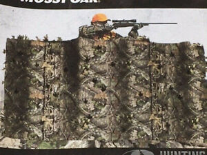 Mossy Oak 12 ft x 56 in Omnitex 3D Blind Fabric Break Up Country - New