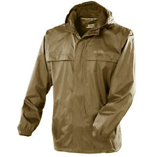 Gelert Mens Dark Olive Rainpod Jacket Hiking Walking With Stuff Sac Size Small