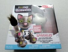 Zoomer Meowzies Sparkles Interactive Kitten with Lights, Sounds and Sensor