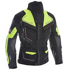 Giacche gialli uomo con protezioni spalle per motociclista