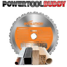 Evolution Rage Orange 210mm x 24TCT Multipurpose Circular Saw Blade