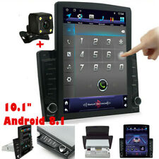 1DIN Android 8.1 10.1in Quad-Core Car Player Stereo Radio GPS Wifi Mirror Link