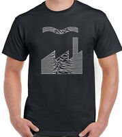 Joy Division Factory Records Mash Up Mens T-Shirt FAC51 Unknown Pleasures CD