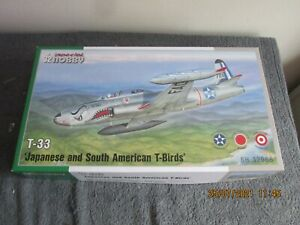 1/32  SPECIAL  HOBBY  JAPANESE AND SOUTH AMERICAN  T-BIRDS    (32066)  650g