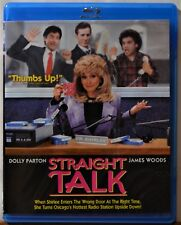 Blu-ray Straight Talk Dolly Parton James Woods Comedy CLEAN DISC Extras ShipFree