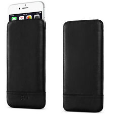 Genuine Official Sena Ultraslim Heritage iPhone 7 6 6s Black Pouch Case