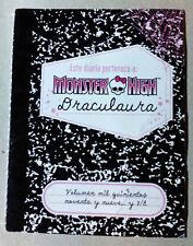 Monster High Draculaura Diario 2011