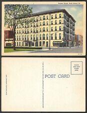 Old Illinois Postcard - Rock Island - Harper House