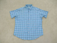 Peter Millar Shirt Adult Extra Large Blue Purple Featherweight Button Up Mens