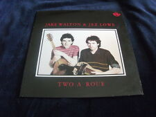 UK 1ST JAKE WALTON & JEZ  LOWE LP TWO A ROUE FELLSIDE RECORDINGS 1986 RARE EX+++
