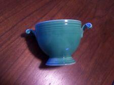Vintage Fiesta Green Sugar Bowl Fiestaware NO LID