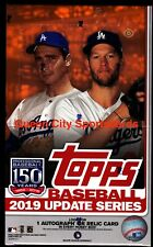 2019 Topps Update Series Baseball Factory Sealed Hobby Box