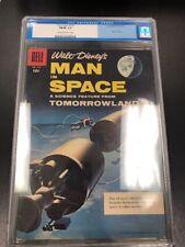 CGC 1956 Walt Disney's Man In Space #716 Graded FN/VF 7.0