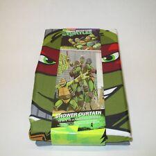 """Teenage Mutant Ninja Turtles Shower Curtain, 72""""x 72"""" Kids Bathroom (1289/92X)"""