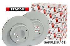 2 Ferodo Brake Discs Rear Vented Fits Mercedes C32 C43 CLK55 SLK32 AMG 98-06
