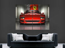 FERRARI SUPER CAR SPORT FAST  POSTER WALL ART PICTURE PRINT IMAGE LARGE