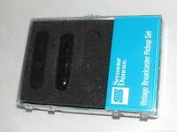 Seymour Duncan STL-1b Vintage Lead Broadcaster Tele Pickup Set  New  Warranty