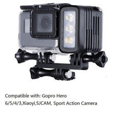 30M Waterproof Diving LED Light Flash Lamp For GoPro Hero 6 5 Black SJCAM XiaoYi
