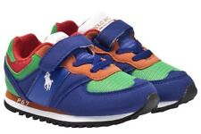 Boys Ralph Lauren Pony P67 Polo Sport Sneakers Shoes Boys Toddlers 10 Green