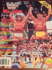 WWF WRESTLING MAGAZINE FEBRUARY 1991 VINTAGE CATALOG WCW ULTIMATE WARRIOR HOGAN