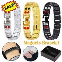 Men Women Magnetic Bracelet Therapeutic Energy Healing Therapy Arthritis Jewelry