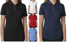 Adidas Golf Womens Short-Sleeve Solid Moisture Wicking Polo Buy Bulk