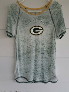 Womens Green Bay Packers Large Tshirt