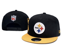 Pittsburgh Steelers NFL Football Embroidered Hat Snapback Adjustable Cap
