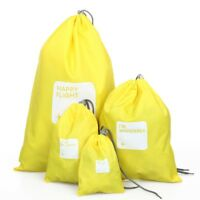 Reisetasche - Set 4 Beutel Geldboerse Wasserdichte Kordelzug Nylon Tasche G K5Q7